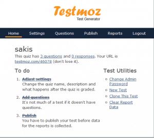 Tests en ligne