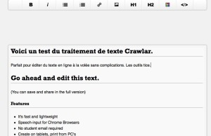 scrawlar test