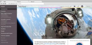 Wikiwand NASA