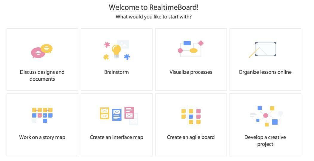 modeles realtimeboard