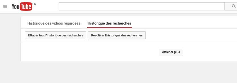 YouTube historique