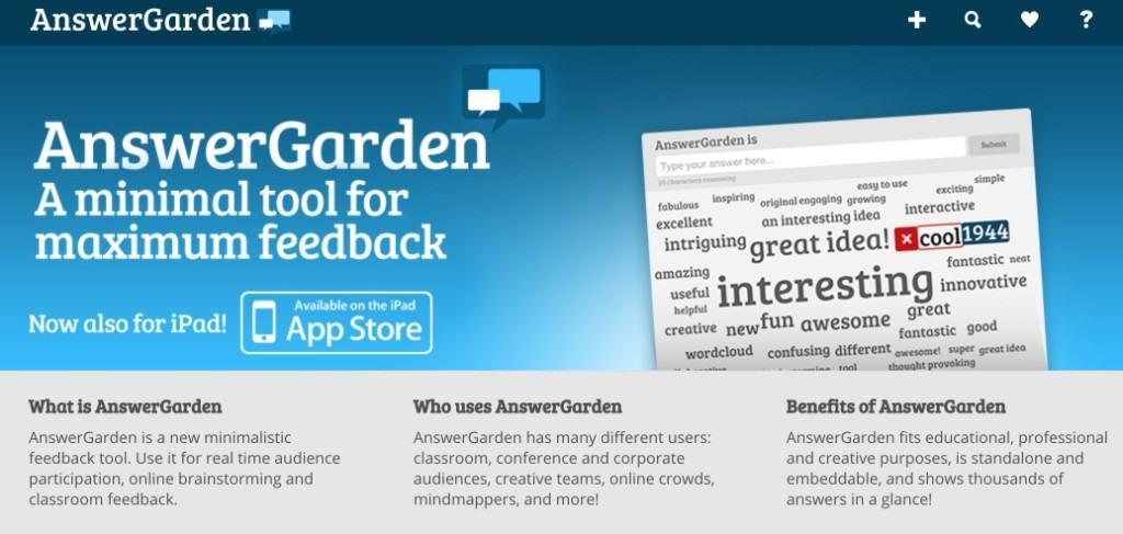 Answer Garden