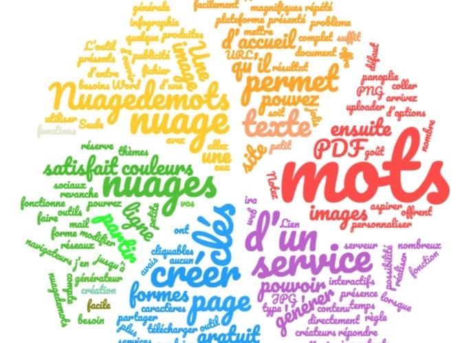 Nuagedemots un outil complet et gratuit pour r aliser des - Creer une grille de mots croises en ligne ...