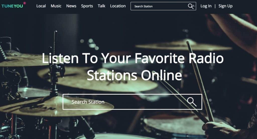 Tuneyou Des milliers de radios en ligne